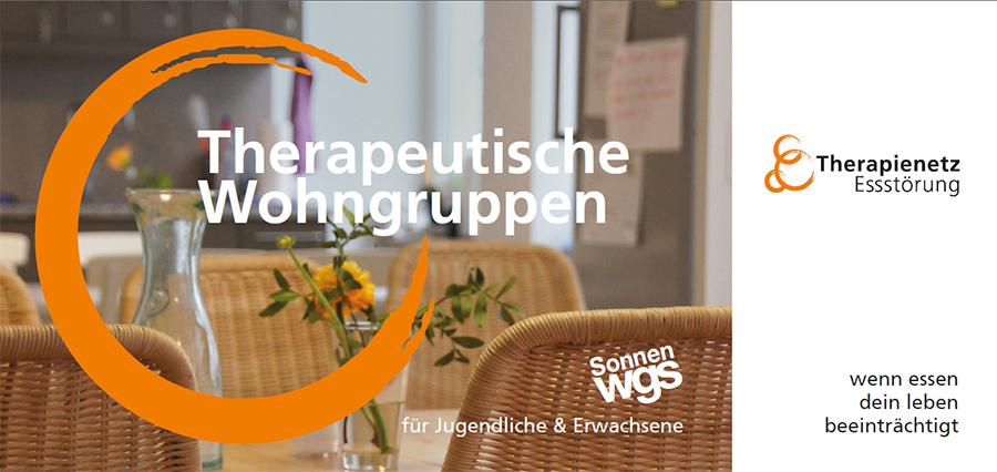 Flyer Therapeutische Wohngruppen