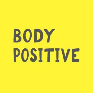 Body Positivity Bewegung Body Positive Font